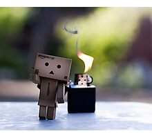 run danbo run! Photographic Print