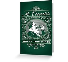 Wafer Thin Mints Greeting Card