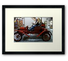 Lovely Old Sports Car, 1907 Maxwell Roadster Framed Print