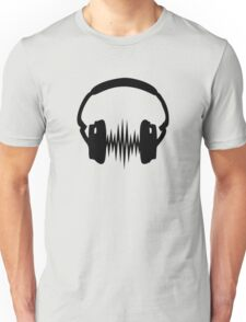 Headphone, Music, Disco, Dance, Electro, Trance, Techno, Wave, Pulse,  Unisex T-Shirt