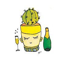 Champagne Charlotte The Drinking Cactus   Emma Watts by Daniel Watts