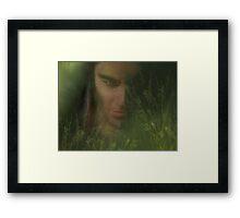 Whispers in the Grass Framed Print