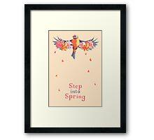 Step Into Spring  Framed Print