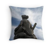 Back in history Throw Pillow