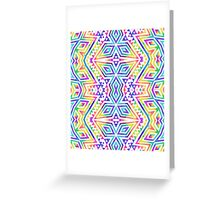 Tribal kaleidoscope. Greeting Card