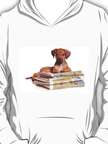 Funny red Ridgeback puppy T-Shirt