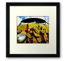 Hippy Trippy Framed Print