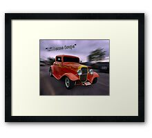 "1932 Ford 3 Window Coupe""Li'l Deuce Coupe "" Framed Print"