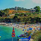 Kassiopi Beach by Tom Gomez