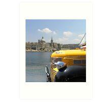 Maltese Sights. Art Print