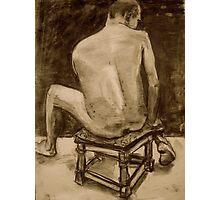 seated man  Photographic Print