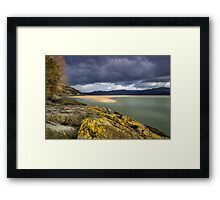 Mouth of the Dovey Framed Print
