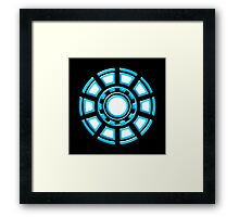 Arc Reactor, Comic, Hero, Superheroes,  Framed Print