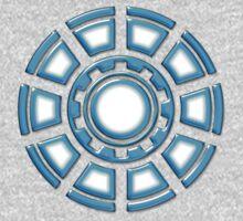 Arc Reactor, Comic, Hero, Superheroes,  One Piece - Short Sleeve