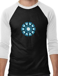 Arc Reactor, Comic, Hero, Superheroes,  Men's Baseball ¾ T-Shirt
