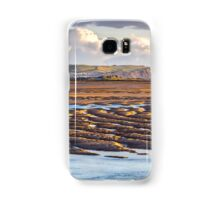 Low Tide at Aberdovey Samsung Galaxy Case/Skin