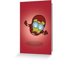 Minions Assemble - Iron Min Greeting Card
