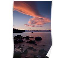 Lake Pukaki, Sunset.. Poster