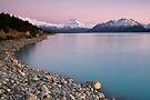 Mt Cook, Sunrise. by Michael Treloar