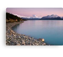 Mt Cook, Sunrise. Canvas Print