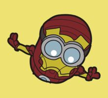 Minions Assemble - Iron Min Kids Clothes