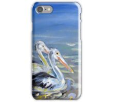 Pelican pals iPhone Case/Skin