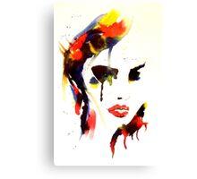 Ink n Tabs (Fragile Beauty) Canvas Print