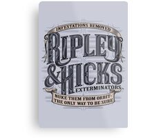 Ripley & Hicks Exterminators Metal Print