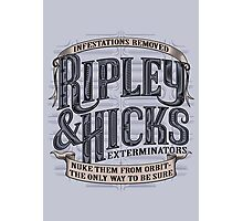 Ripley & Hicks Exterminators Photographic Print
