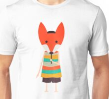 Fox-Masked Kid Unisex T-Shirt