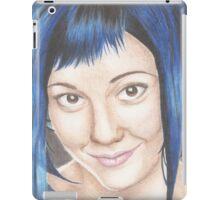 Blue Haired Ramona iPad Case/Skin