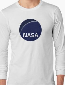 Interstellar movie NASA logo Long Sleeve T-Shirt
