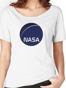 Interstellar movie NASA logo Women's Relaxed Fit T-Shirt