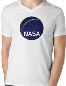 Interstellar movie NASA logo Mens V-Neck T-Shirt