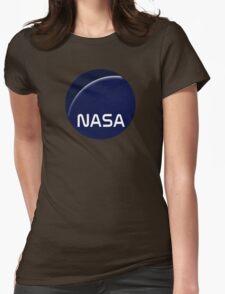 Interstellar movie NASA logo Womens Fitted T-Shirt