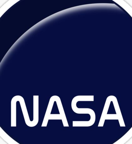 Interstellar movie NASA logo Sticker