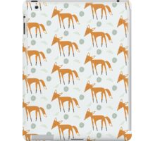 Foxy Pattern iPad Case/Skin