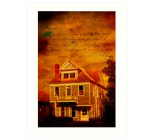 Dearest Memories - Lonesome Townhouse Art Print