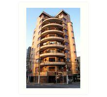 Alfred Magy Apartments - West Fuxing Rd - Shanghai, China Art Print