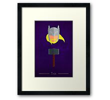 The Myth - Thor Framed Print