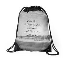 Les Miserables Sun Rise Drawstring Bag