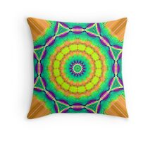 Sweet mango in this hidden place Throw Pillow