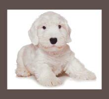 White Terrier puppy One Piece - Short Sleeve