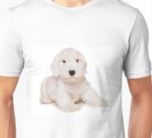 White Terrier puppy Unisex T-Shirt