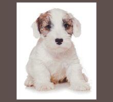 White Terrier puppy Baby Tee