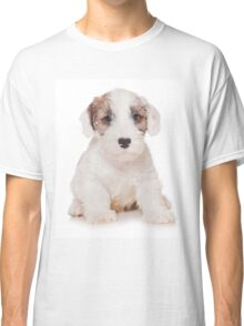 White Terrier puppy Classic T-Shirt