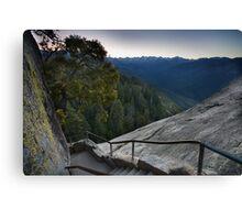 Moro Rock Steep Stairway Canvas Print
