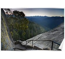 Moro Rock Steep Stairway Poster