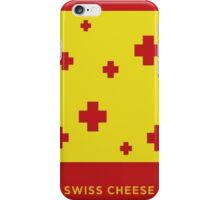 Swiss cheese iPhone Case/Skin