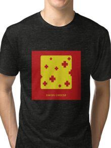 Swiss cheese Tri-blend T-Shirt